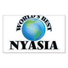 World's Best Nyasia Decal