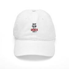 Keep calm and let Grace handle it Baseball Baseball Cap