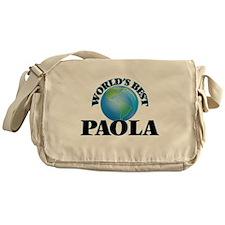 World's Best Paola Messenger Bag