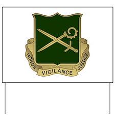 385th MP Battalion Crest.png Yard Sign