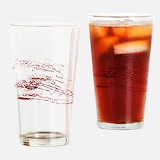 Cute Blood splatter Drinking Glass