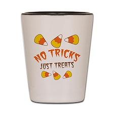 No TRICKS just treats Halloween Shot Glass