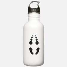 Creepy spider face costume Sports Water Bottle