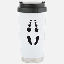 Creepy spider face costume Travel Mug