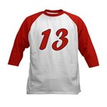 Spoiled 13 Kids Baseball Jersey