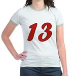 Spoiled 13 Jr. Ringer T-Shirt