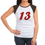 Spoiled 13 Women's Cap Sleeve T-Shirt