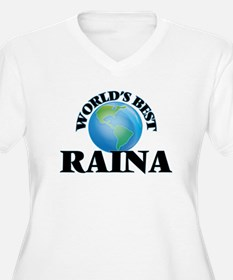World's Best Raina Plus Size T-Shirt