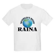 World's Best Raina T-Shirt
