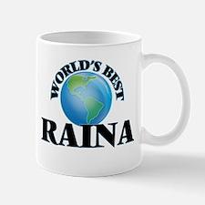 World's Best Raina Mugs
