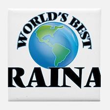 World's Best Raina Tile Coaster