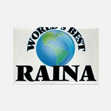 World's Best Raina Magnets