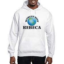 World's Best Rebeca Hoodie Sweatshirt