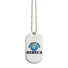 World's Best Rebeca Dog Tags
