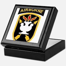 us army john f kennedy special warfar Keepsake Box
