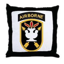 us army john f kennedy special warfar Throw Pillow