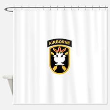 us army john f kennedy special warf Shower Curtain