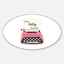 Mean Writing Machine Decal