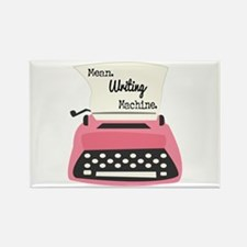 Mean Writing Machine Magnets
