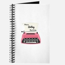 Mean Writing Machine Journal