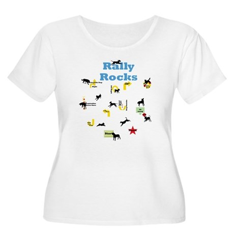 Rally Rocks v5 Women's Plus Size Scoop Neck T-Shir