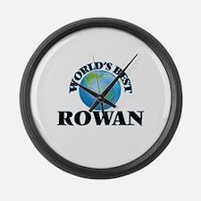 World's Best Rowan Large Wall Clock