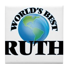 World's Best Ruth Tile Coaster
