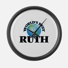 World's Best Ruth Large Wall Clock