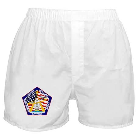 Shuttle Mission 104 Patch Boxer Shorts