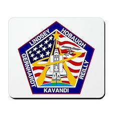 Shuttle Mission 104 Patch Mousepad