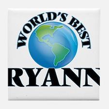 World's Best Ryann Tile Coaster