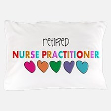 rETIRED nURSE pRACTITIONER HEARTS Pillow Case