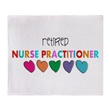 Retirement nurse Fleece Blankets