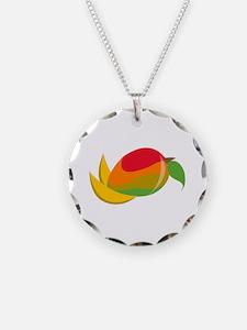 Mango Fruit Necklace