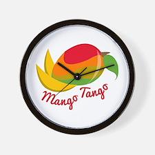 Mango Tango Wall Clock