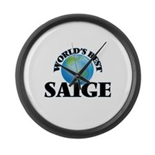 World's Best Saige Large Wall Clock