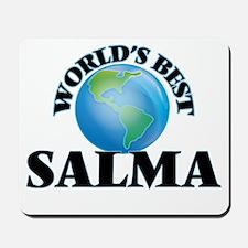 World's Best Salma Mousepad