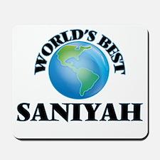 World's Best Saniyah Mousepad