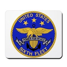 SIXTH FLEET US Navy Military PATCH.psd.p Mousepad