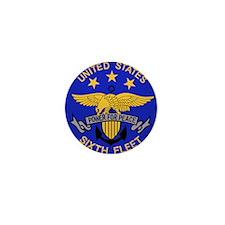 SIXTH FLEET US Navy Military Mini Button (10 pack)