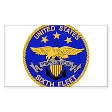 SIXTH FLEET US Navy Militar Decal