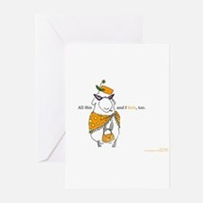 Unique Dolores Greeting Cards (Pk of 20)