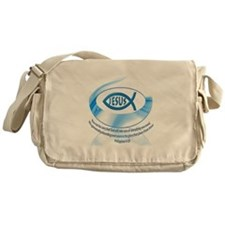 Christian Fellowship - Jesus Fish Messenger Bag