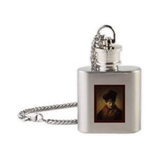 Rembrandt, Bust of an old man in a Flask Necklace