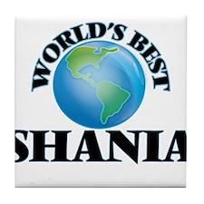 World's Best Shania Tile Coaster