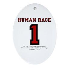 1 Human Race (RT) - Oval Ornament