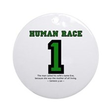 1 Human Race (GT) - Ornament (Round)