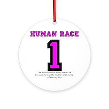 1 Human Race (PkT) - Ornament (Round)