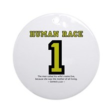 1 Human Race (YT) - Ornament (Round)