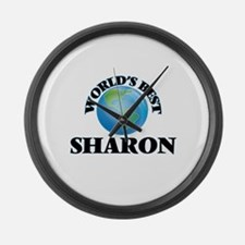 World's Best Sharon Large Wall Clock